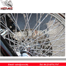 Wheel Spokes and Nipple for Motorcycle 18 inch spoke wheel rim