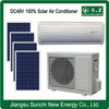 Off grid 100% hot sale DC48V split portable solar power air conditioner buy