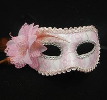 WH-038 Yiwu Caddyplastic venice festival face mask to decorate for girls halloween mask for party beauty face mask hot sale