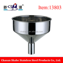 metal material stainless steel larger Funnel without crevice maker