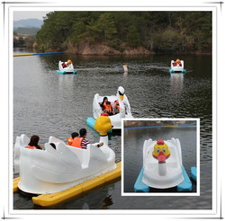 Fwu-long high quality water inflatable pedal boat with CE certificate