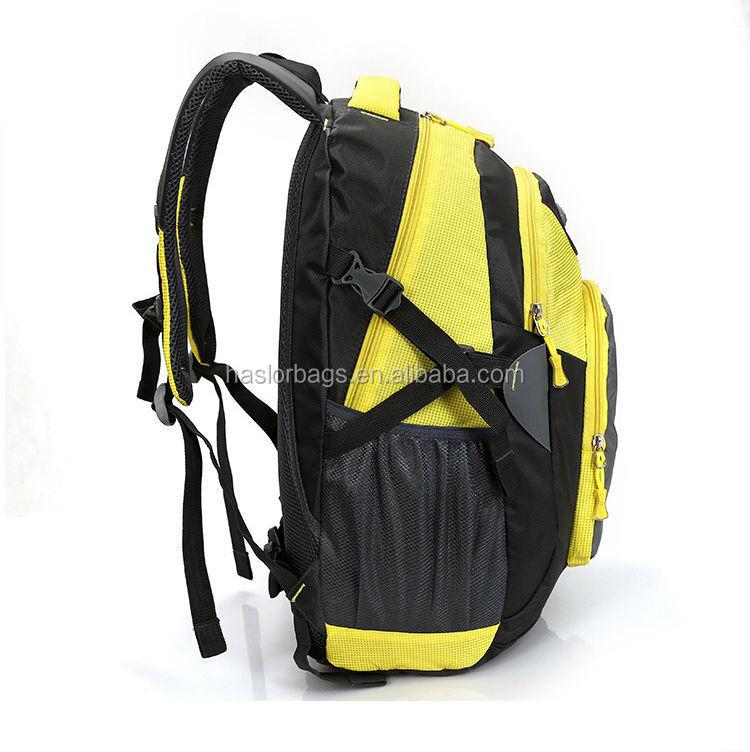 Personnalisée gros étanche et durable polyester sac à dos pour le sport et loisirs