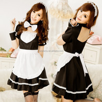Sexy japanese maid costume simple cosplay costume QAWC-0139