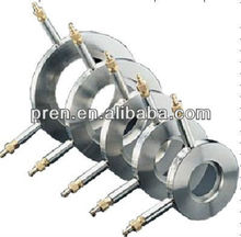 Stainless steel orifice plate and flange