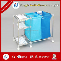 stainless steel pop up laundry basket