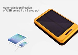 solar power bank for iphone 4/iphone 4S/iphone 5/iphone 6, solar charger 4000mah, portable charger power bank