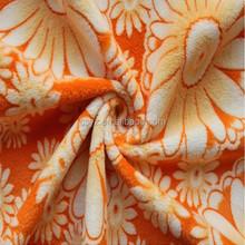 burnout short pile fleece fabric yard