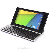 Aluminium Bluetooth Wireless Keyboard Case Cover For Google FHD 2nd Gen 2013 Nexus 7