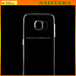 high quality transparent silicone phone case for samsung s6 edge tpu phone case
