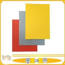 non-toxic colours PP foam sheets/ PP plastic board