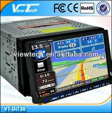 7 inch 2 din car audio system GPS TV DVD BLUETOOTH
