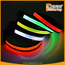 2015 new design pet products pvc safety dog collar TZ-PET1038 dogs accessories in china