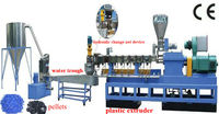 PP PE LDPE Waste Film Plastic Granulating Machine
