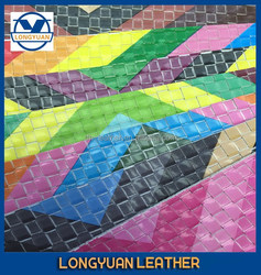 Woven Leather Fabric Woven Bag Raw Material