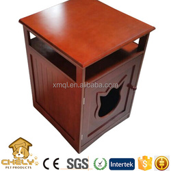 Classic design cat furniture cat washroom ,pet washroom with multifunction table