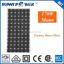 high efficiency sunpower mono solar panel 20w 50w 100W 120W 150W 180W 200w donguan factory direct supply