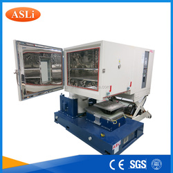 vibration tests combined with humidity chamber