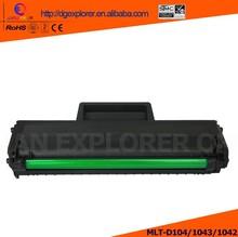 Compatible Toner Cartridge For Samsung MLT-D1043/1042 /104 For SCX-3200/3205/3205W/3207, ML-1665K/1660K/1865W, ML-1660...