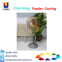 shiny gold electroplating metallic powder paint for fan cover