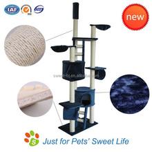 2015 Sweet Factory cat furniture tree ,cat scracther tree,cat climbing post