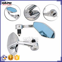 BJ-RM400-02 Manfacture Aluminum Chrome Kawasaki Z1000 Bar End Mirror Motorcycle