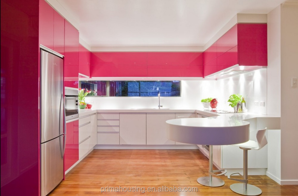 Modular Kitchen Cabinet Color Combinations Plastic Kitchen Cabinet