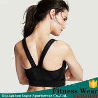 sexy ladies lycra yoga bra active wear