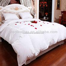 oeko-tex standard goose down quilt/duvet/comforter