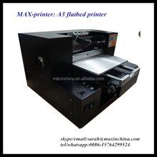 MAX-printer A3 pen ,cd,card,phone case, t-shirt flatbed printer