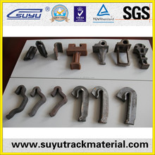 China Railway Fasteners good quality rail anchors with railway sleepers