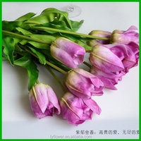 Fashion Best-Selling high quality artificial tulips flower