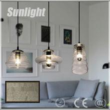 modern industrial nordic style glass bottle shape vintage pendant lamp/lighting