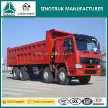 High Performance Safety and Comfortable 12 Tires Tipper Trucks for Sale