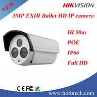 HIKVISION 3 MP EXIR Bullet Network Camera, IP Camera, Security Camera