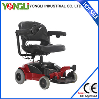 Aluminum frame power wheelchair high quality wheel chair for elderly