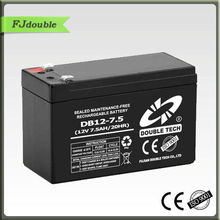 Home solar solution best 12v 7.5ah battery db12-7.5ah rechargeable