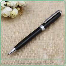 silvery and black metal pen metal model twist new metal pens small moq