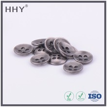 HHY custom metal button from professional sew button factory shirt button