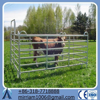 Baochuan ranch fence panel gates/6 rails horse fencing(China Factory&Suppier)