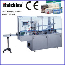 CE Certification TMP 400E Cellophane Film Overwrapping Machine With Tear Tape