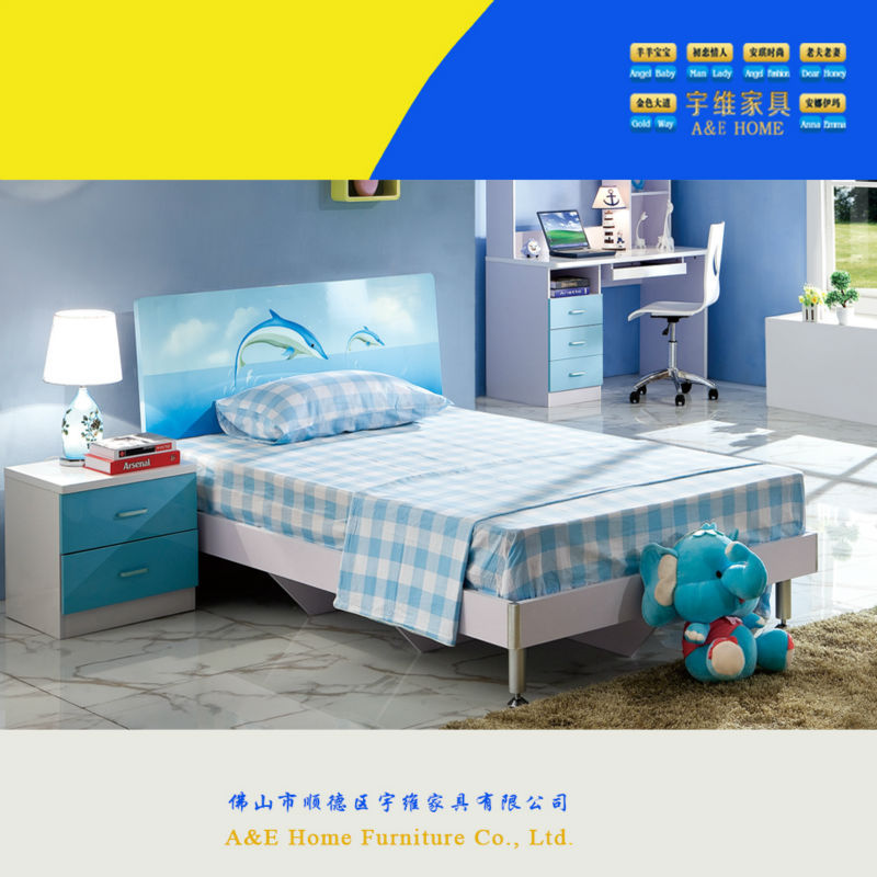 Wow 6356 Cool Blue Dolphin And Sea Kids Bedroom Set Novel Costco Kids Furniture Buy Costco