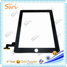 Replacement digitizer for ipad 2 with frame, for ipad 2 touch screen digitizer assembly