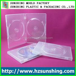hard plastic dvd box manufacturing cd dvd case