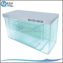 100inch Custom Fish Tanks Glass For Different Aquarium Decoration