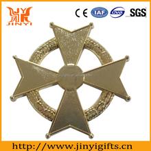 Zinc alloy custom made metal crafts badge factory