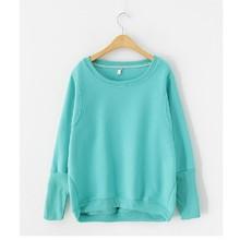 Solid Plain 100 Cotton Sweatshirts for Women