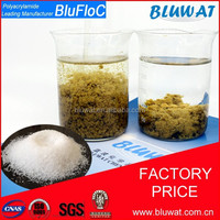 Blufloc Tunisa Marble Water Treatment Flocculant Polyacrylamide Polymer