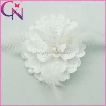 Hair Bows Of Headpiece Hair Pins Feather Hat Ornament CNHB-1309207-3
