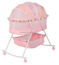 LZW 2015 new design rocking baby bed: model 806