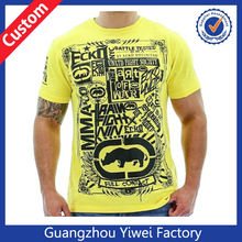 el más nuevo diseño dri fit muscular baratos deporte camisa t